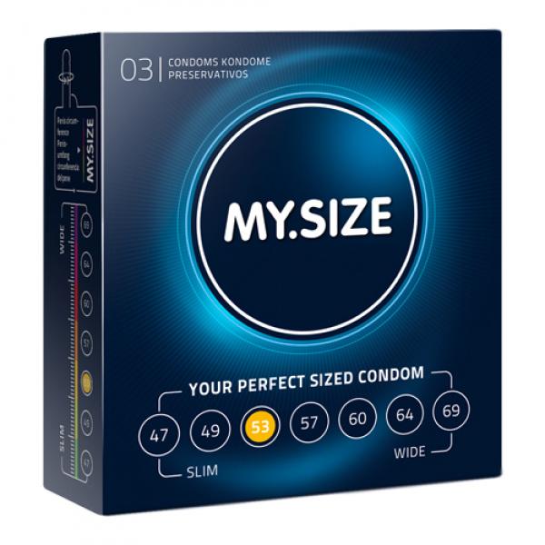 MY.SIZE 53 mm Condooms 3 stuks - My.Size