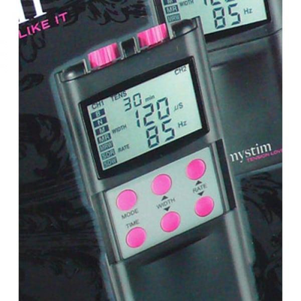 Mystim Tension Lover E-Stim Tens Unit Close Up Electro Sex