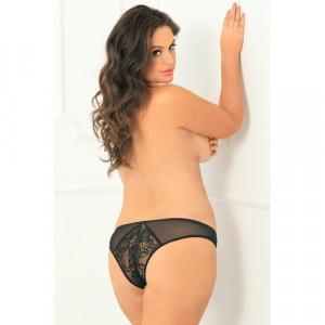 Miss Behavior Open Kruis Slip - Plus Size - Rene Rofe