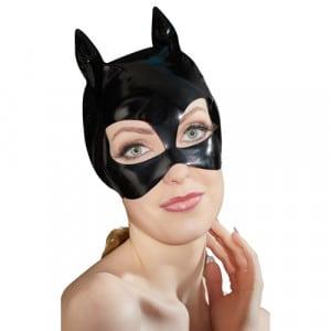 Lak Masker Met Kattenoortjes Voorbeeld