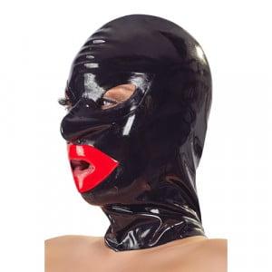 Bondage Hoofdmasker Met Lippen BDSM Bondage Schuin