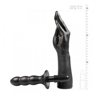 TitanMen The Hand Vac-U-Lock Realistische Dildo Afmeting