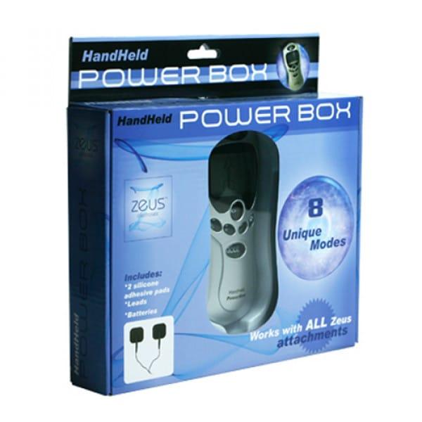 Zeus Powerbox - Compact Model Met 8 Standen BDSM SM toys Electro Sex Verpakking
