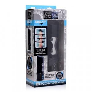 Beat It - Roterende Masturbator USB Oplaadbaar - Lovebotz