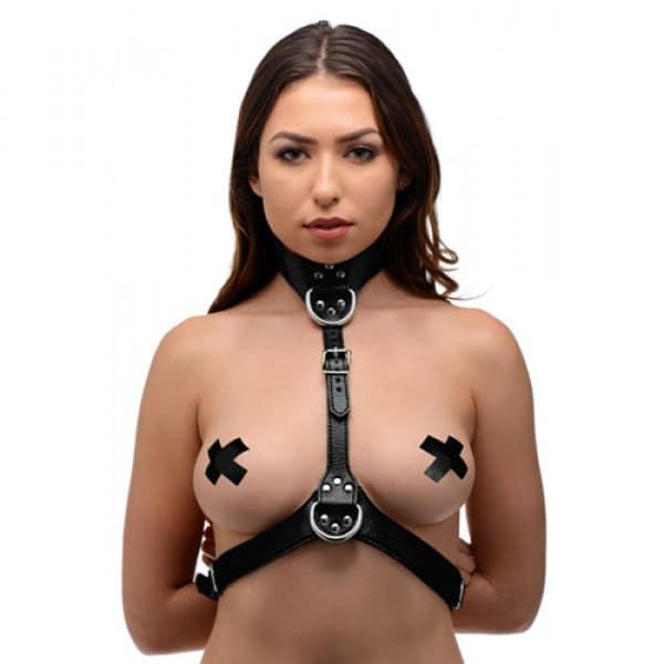 Bondageharnas Voor Vrouwen BDSM Bondage Voorkant