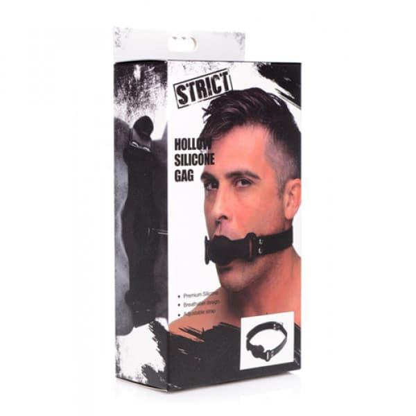 Holle Siliconen Gag Verpakking Knevels BDSM