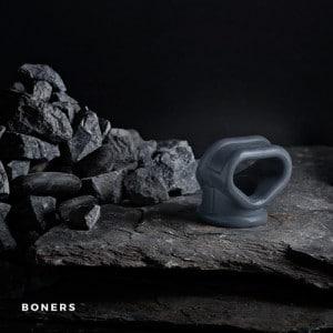 Liquid Silicone 2 in 1 Ballstretcher - Boners