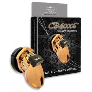 CB-6000S Kuisheidskooi Goud Met Verpakking SM Toys BDSM
