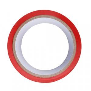 Rode bondagetape bovenkant