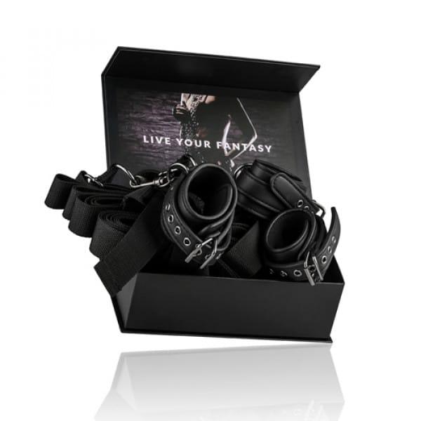 Under Mattress Restraint Set Verpakking BDSM Bondage Handboeien