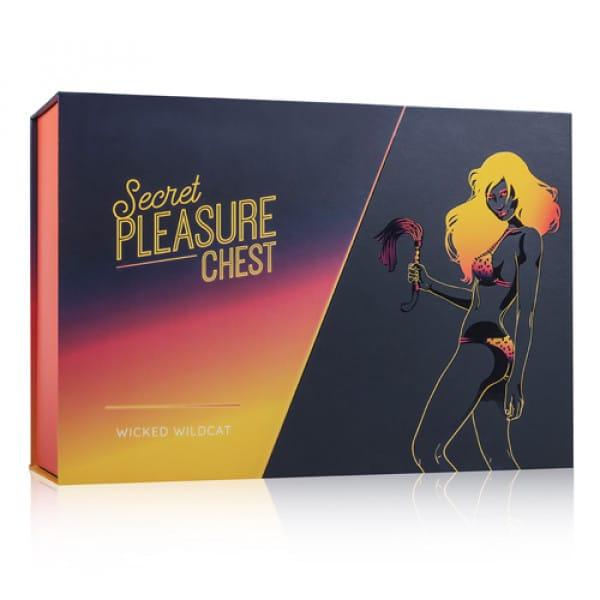 Secret Pleasure Chest Wicked Wildcat Verpakking BDSM SM Bondage