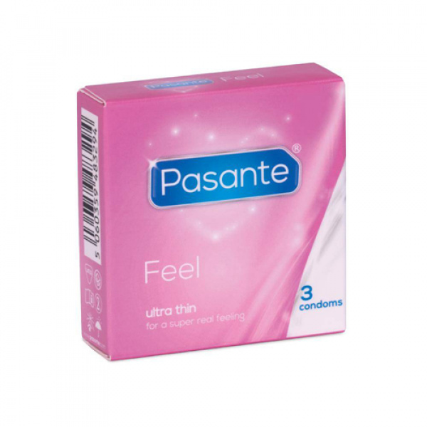 Pasante Feel Condooms - 3 stuks - Pasante