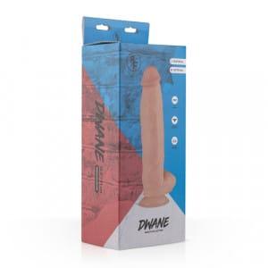 Dwayne Realistische Dildo Verpakking
