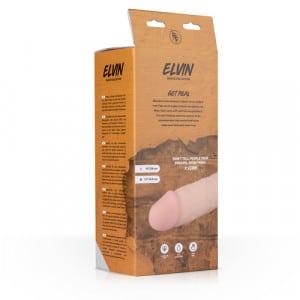 Elvin Realistische Remote Vibrator Verpakking Achterkant