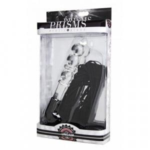 Lingam Glazen Dildo Met Zweep SM-toys BDSM Verpakking