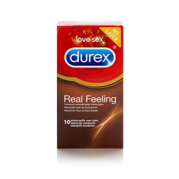 Durex Real Feeling - 10 Stuks - Durex