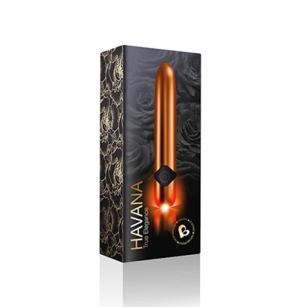 Havana Sensual Gold Kleine Vibrator Verpakking