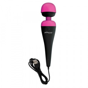 Palm Power Plug & Play Wand Vibrator Met Oplader Massage Stimulatie
