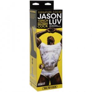 Jason Luv Realistische Dildo Met Balzak - 21.6 cm Verpakking