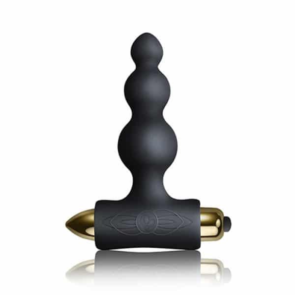 Be Mine Black Silhouette Set Koppel Vibrator Zijkant