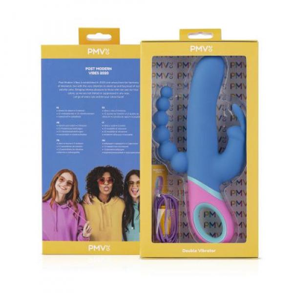 Vice Double Vibrator Verpakking Open G-spot Stimulator Clitoris