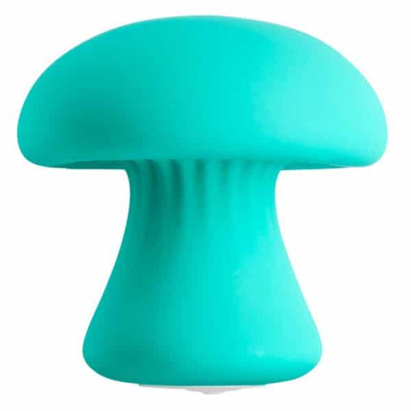 Mushroom Massager Groenblauw Close Up
