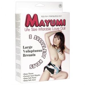 Sexpoppen Opblaaspoppen Mayumi Verpakking