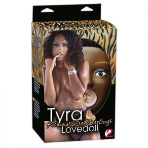 Sekspoppen Opblaaspop Tyra Verpakking