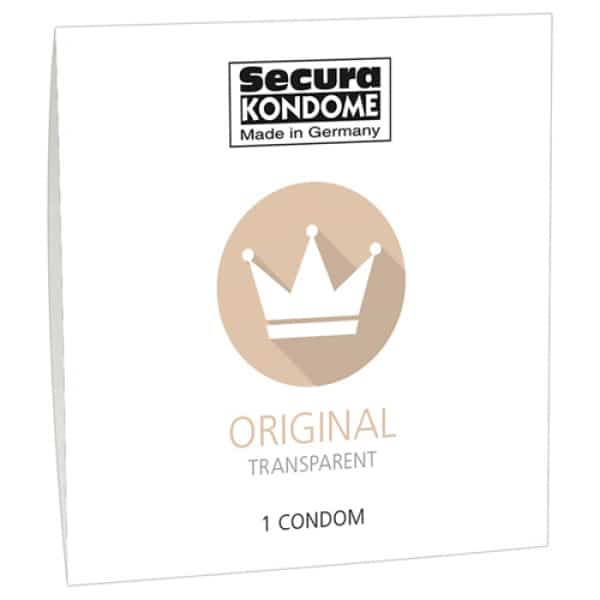 Secura Original Condoom - 1 Stuk - Secura Kondome
