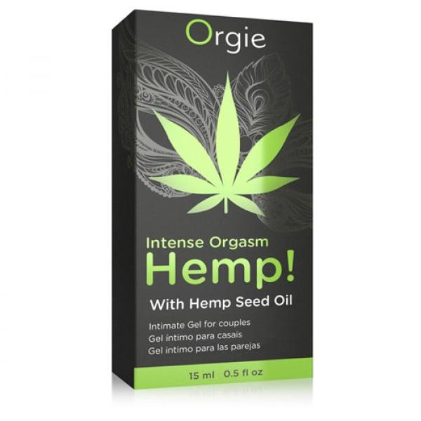 Intense Orgasm Hemp Gel - 15 ml - Orgie