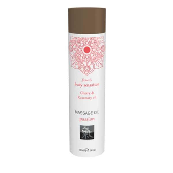 Passion Massage Olie - Kersen & Rozemarijn - Shiatsu