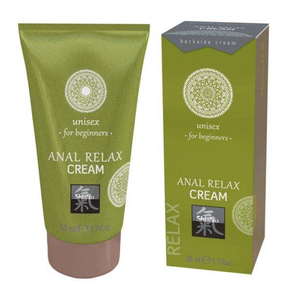 Anaal Relax creme Voor Beginners - Shiatsu