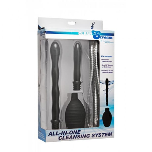All In One Shower Enema Systeem - CleanStream