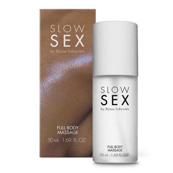 Full Body Massage Gel - 50 ml - Slow Sex