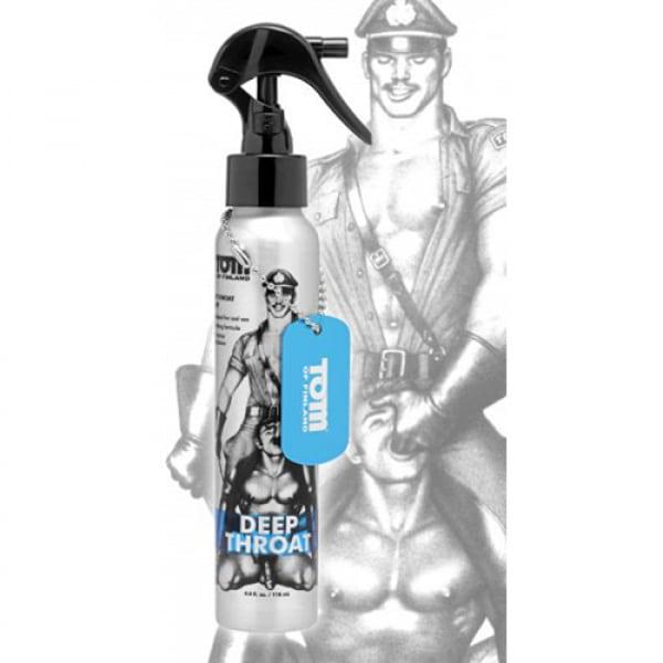 Tom of Finland Deep Throat Verdovende Oraal Spray - Tom of Finland