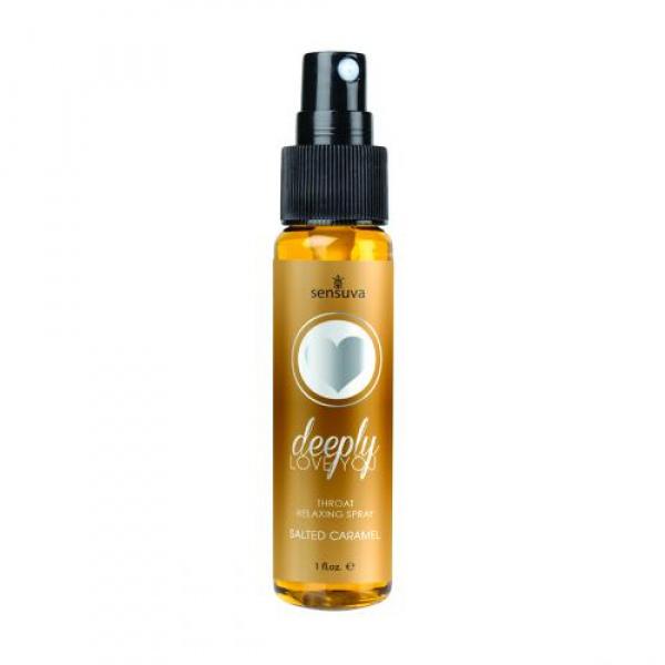 Deeply Love You Throat Relaxing Spray - Salted Caramel - Sensuva