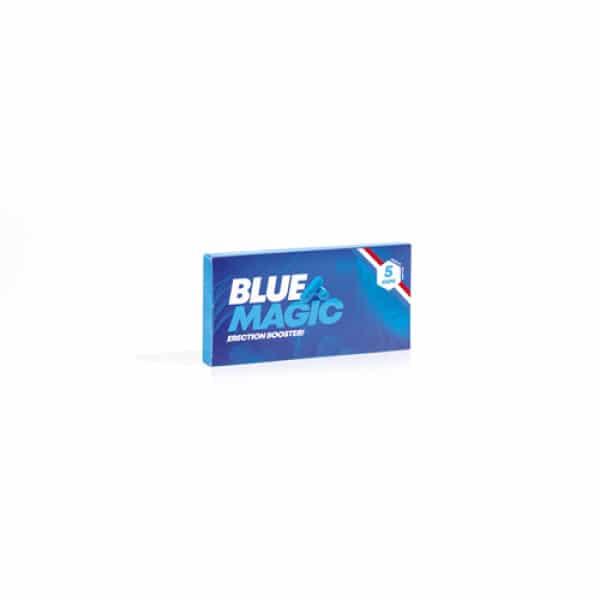 Blue Magic! Erectiepillen - 5 Stuks - VitaVero